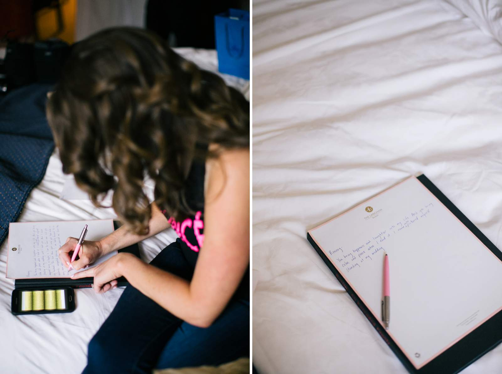 Boston Wedding Photography, getting ready, Langham hotel, bride, groom, letters