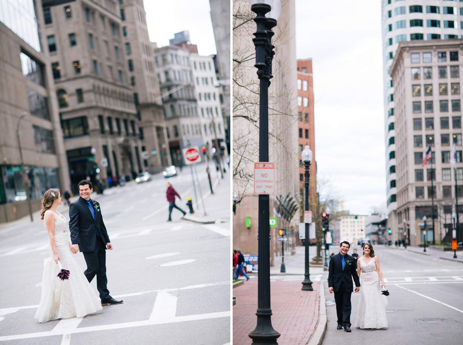 Boston Wedding Photography, getting ready, Langham hotel, groom, bride, first look, portraits