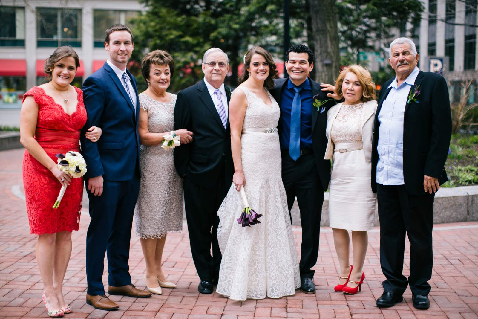 Boston Wedding Photography, getting ready, Langham hotel, groom, bride, family, portraits
