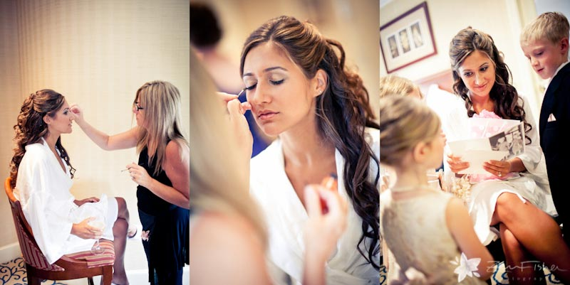 Boston Park Plaza Hotel Weddings, Bride getting ready, Bridal makeup, boston bridal