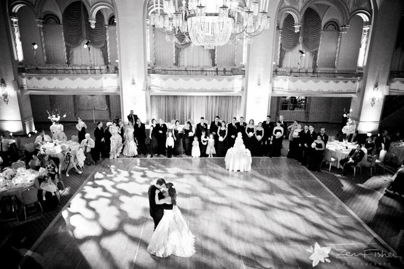 Boston Park Plaza Hotel Weddings, wedding reception, bride & Groom, first dance, boston wedding
