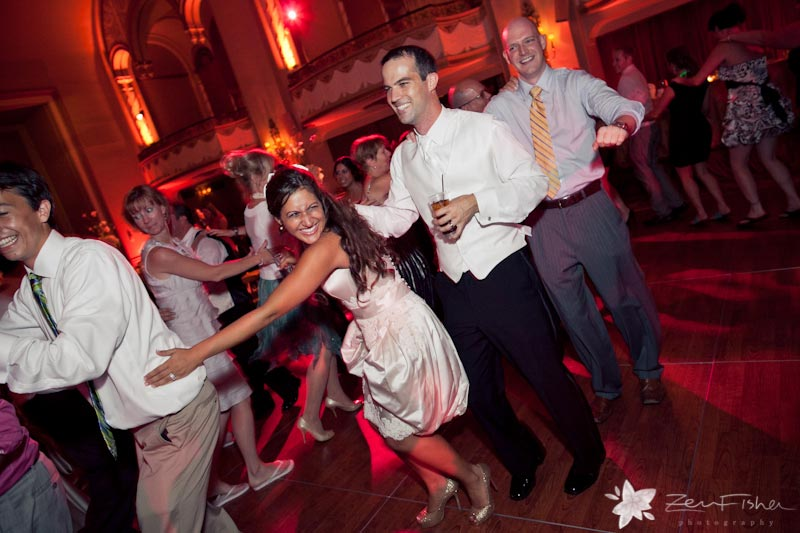Boston Park Plaza Hotel Weddings, wedding reception, weddings guests, dancing, boston weddings