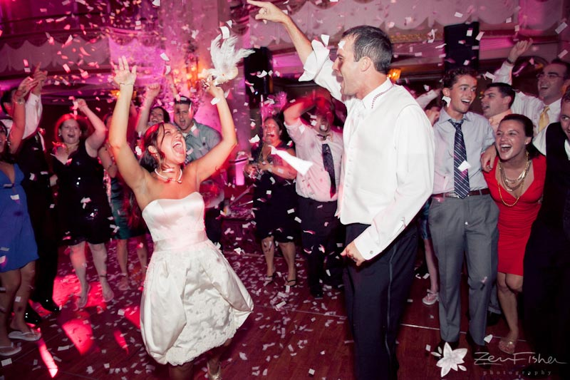Boston Park Plaza Hotel Weddings, wedding reception, bride and groom, dancing, boston weddings