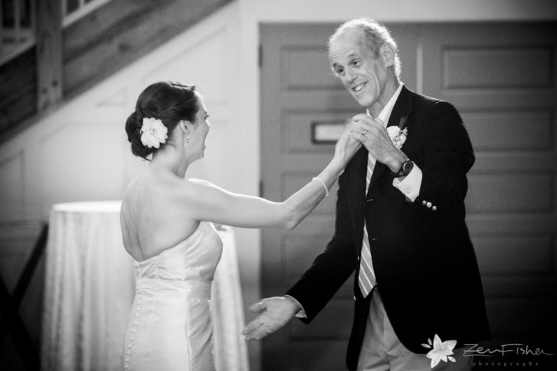 Gibbet Hill Wedding, Boston weddings, wedding reception, father-daughter dance, wedding moments