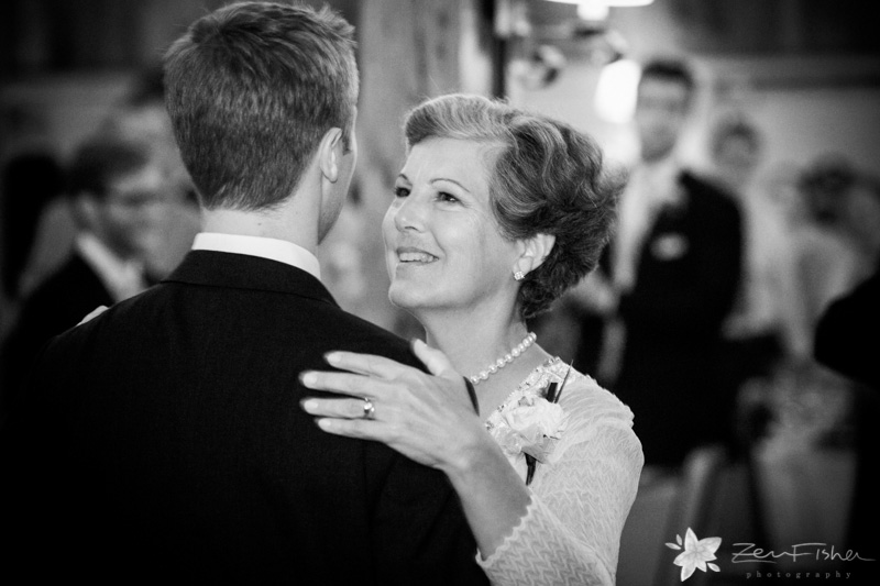 Gibbet Hill Wedding, Boston wedding, wedding reception, mother-son dance, groom, mother of the groom
