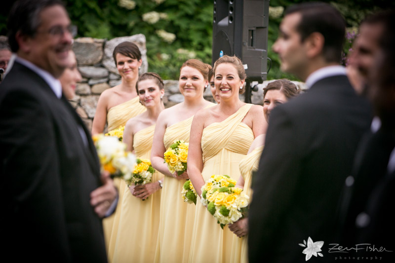 Blithewold Mansion Wedding, Wedding Ceremony, Bridesmaids, Bridal Party, Bridal Bouquets, Bridal