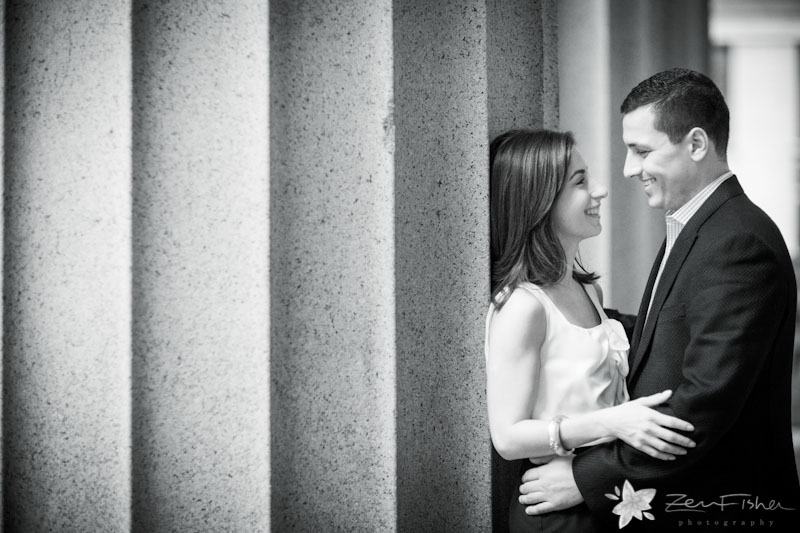 boston engagements, boston engagement portraits, engaged, downtown boston engagement session