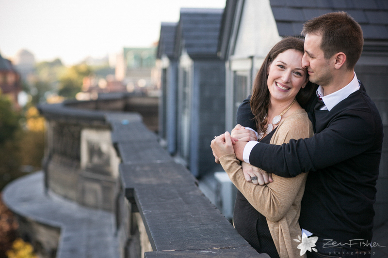 Boston Engagement Portraits, Boston Engagements, Rooftop Engagement Portraits, Boston Bridal