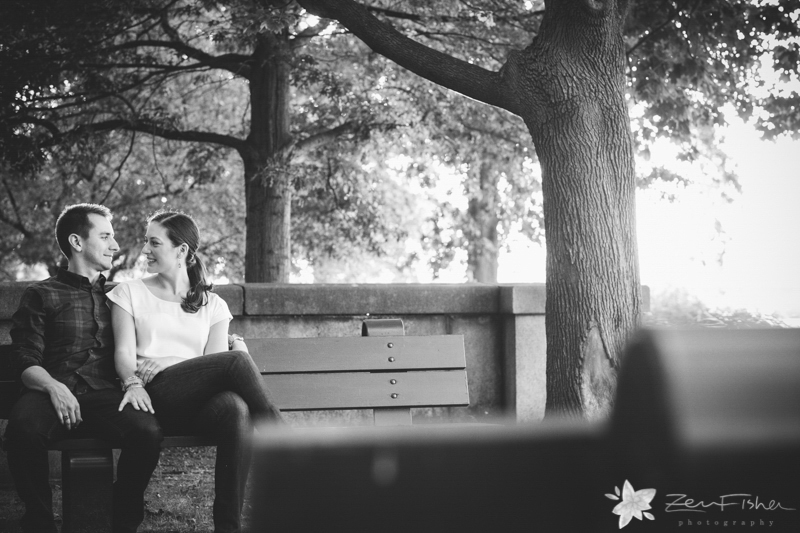 Boston Engagement Portraits, Boston Engagements, Black and White Wedding Photography