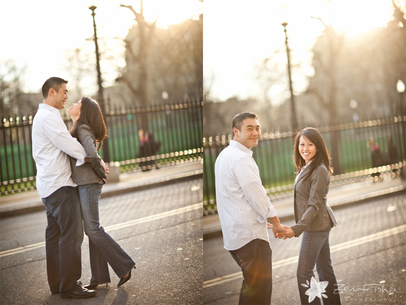 boston engagement session, boston engagement portrait, bride and groom to-be, engaged, save the date