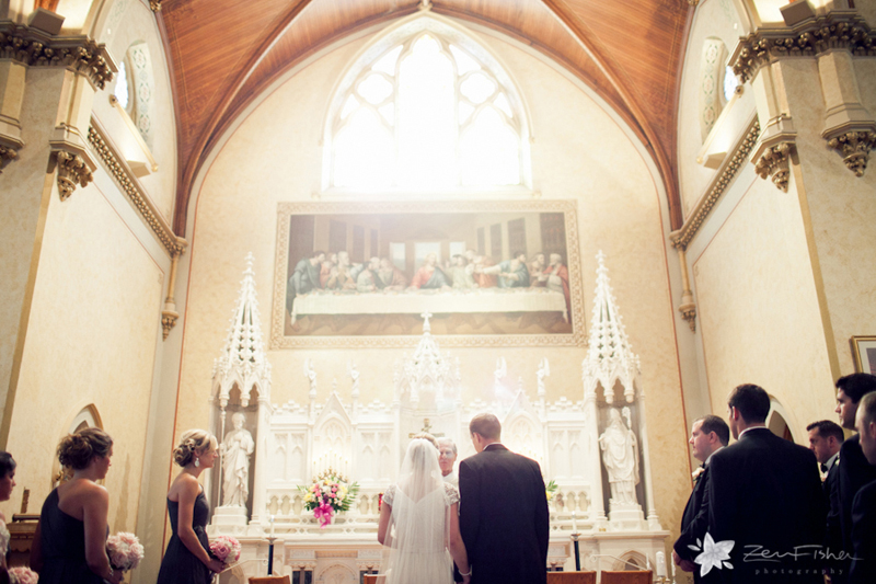 boston weddings, church wedding, bride & groom, wedding ceremony, zev fisher photography, bridal