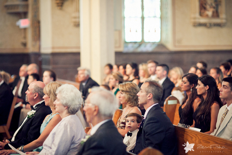 boston weddings, church wedding, wedding ceremony, wedding guests, zev fisher photography