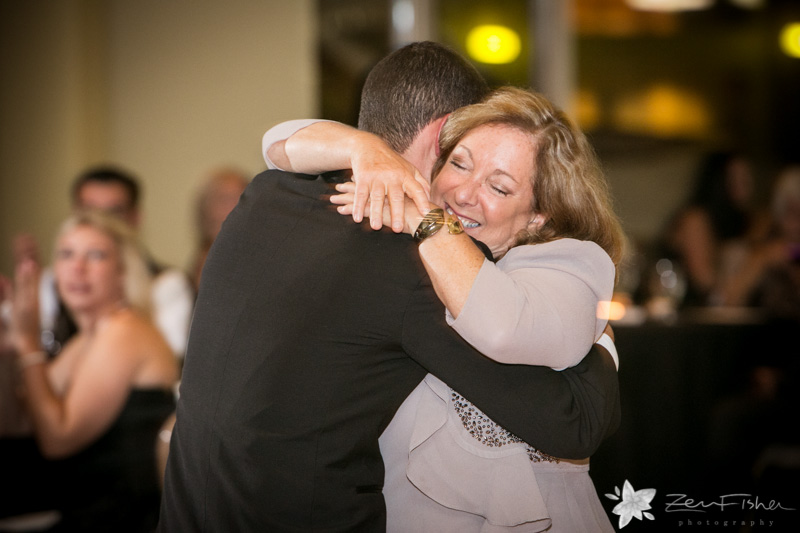 Boston Harbor Hotel, Groom, Mother of the Groom, Mother-Son Dance, Wedding Reception, Wedding Moment