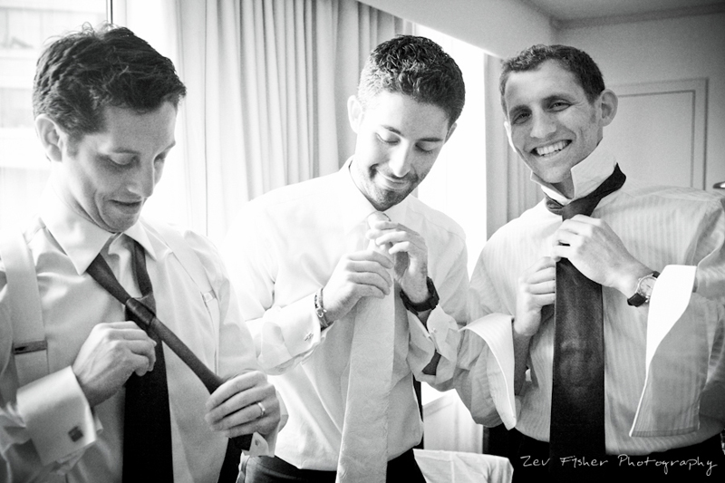 boston bridal, groomsmen getting ready, black and white wedding photography, grooms attire