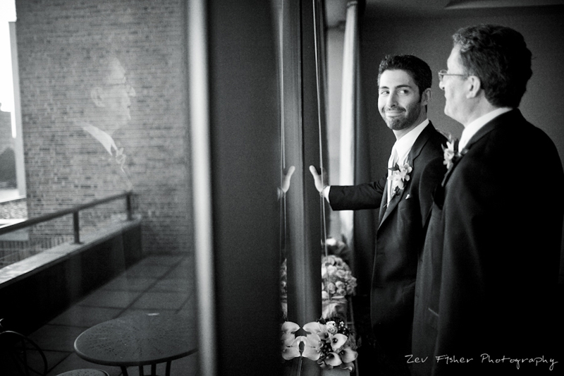 groom, groomsman, bridal party, wedding portrait, black and white wedding photography