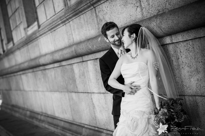 Boston Public Library Weddings, Bride & Groom, First Look, Romantic Wedding Portraits, boston bridal