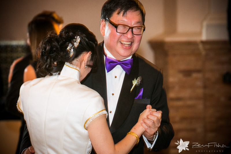 Boston Public Library Wedding, Wedding Reception, Father of the Bride, Dancing, Boston Wedding