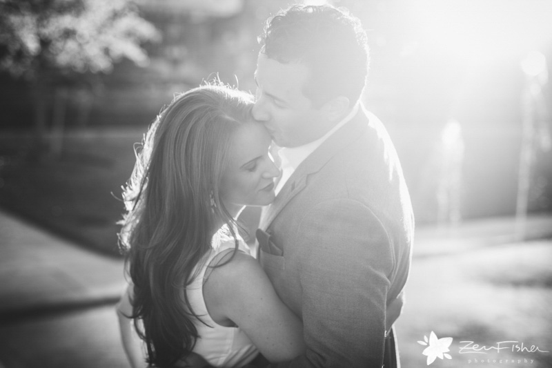 Boston Engagement Portraits, Vintage Engagement Portraits, Black and White Engagement Portraits