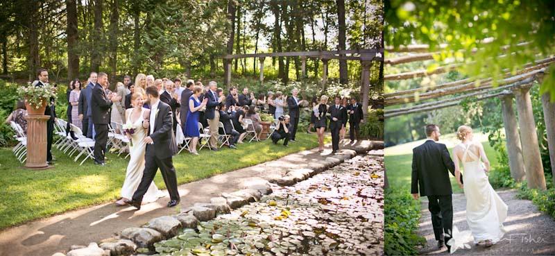Codman Estate Wedding Ceremony Bride And Groom Boston Weddings Bridal