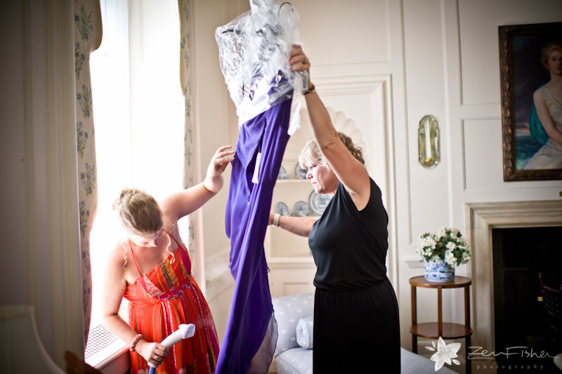 crane estate wedding, bridesmaids getting ready, boston bridal, boston wedding photographers