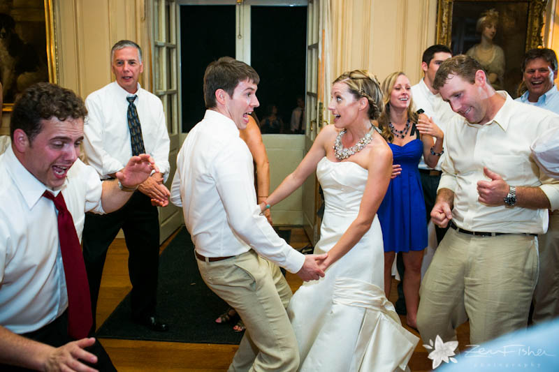 crane estate wedding, boston weddings, wedding reception, dancing, wedding guests