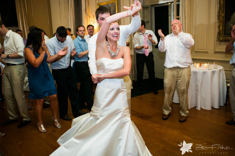 crane estate wedding, boston weddings, wedding reception, bride dancing, wedding guests