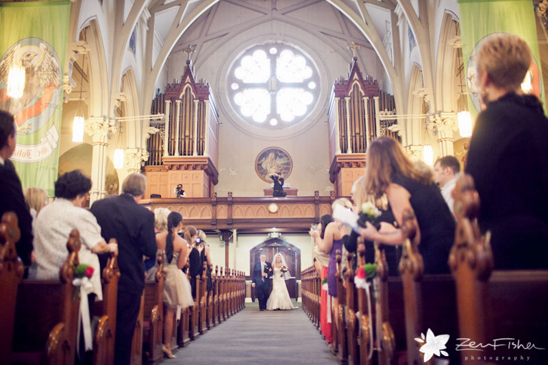St. Anne's Church Gloucester Wedding, Boston Weddings, Bride, Father of the Bride, Wedding Ceremony