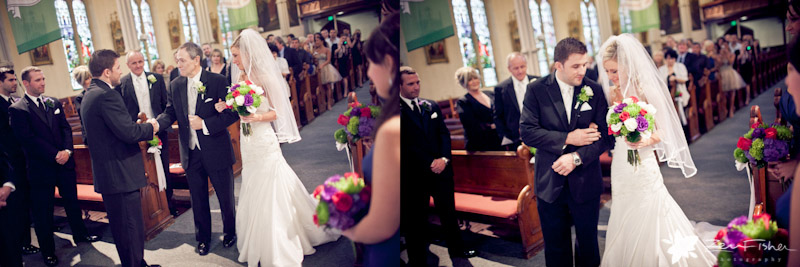 St. Anne's Church Gloucester Wedding, Bride and Groom, Father of the Bride, Wedding Ceremony