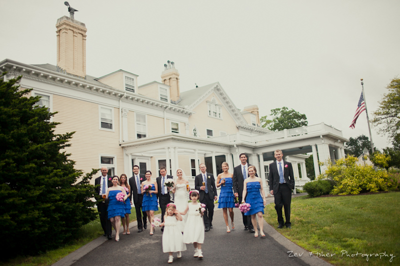 Endicott Estate Wedding Bridal Party Bridesmaids Groomsmen Flower S