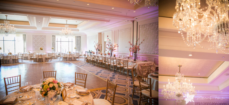 Four Seasons Boston Wedding Reception Details Flowers Tablescapes