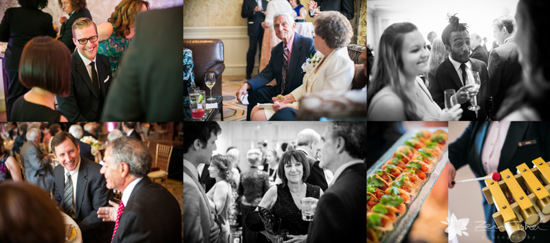 Four Seasons Boston Wedding, Cocktail Hour, Wedding Guests, Wedding Appetizers, Reception Details