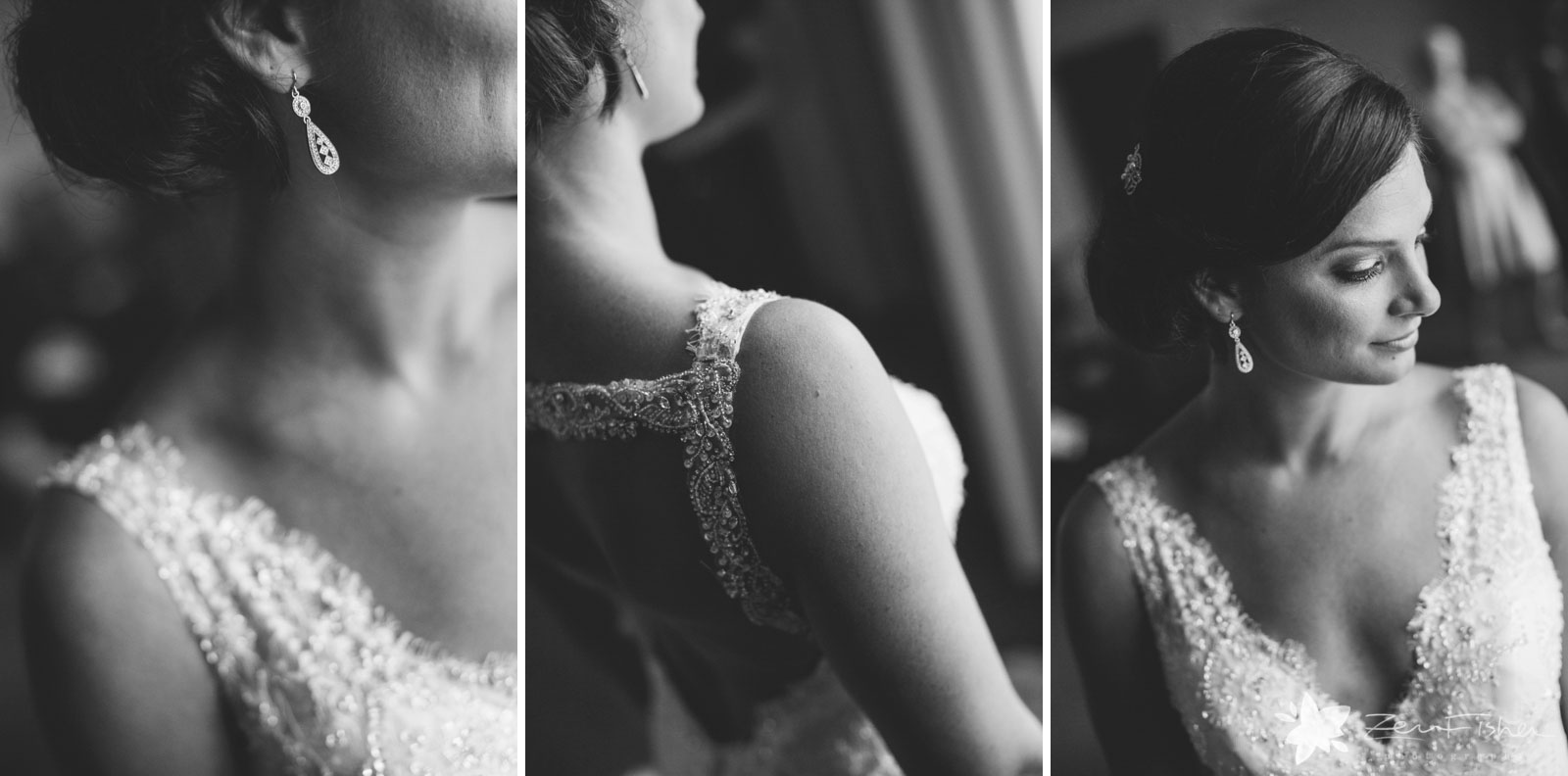 Liberty Hotel Boston wedding, Boston wedding photography, black and white, bride getting ready