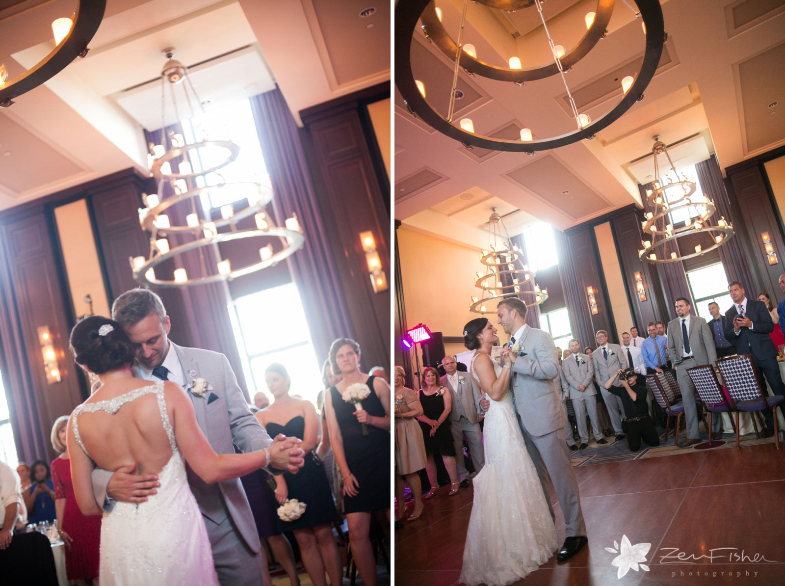 Liberty Hotel Boston wedding, Boston wedding photography, bride and groom first dance