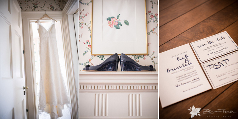 Weddings at the Lyman Estate, Bride Getting Ready, Wedding Gown, Bridal Heels, Boston Bridal