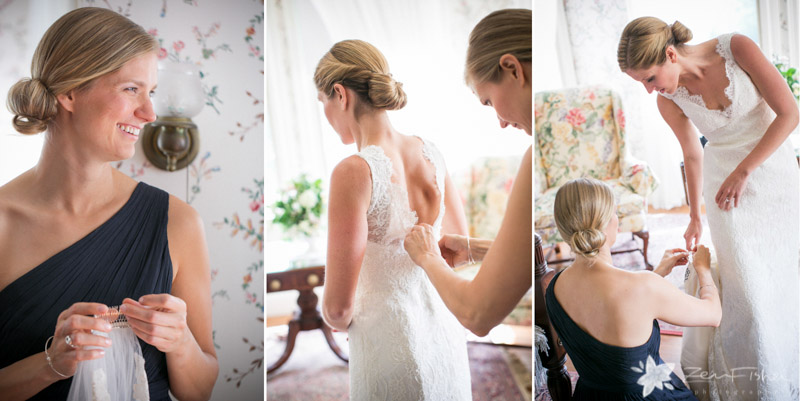 Weddings at the Lyman Estate, Bride Getting Ready, Wedding Gown, Boston Weddings, Boston Bridal