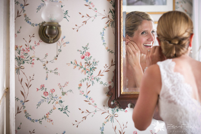 Weddings at the Lyman Estate, Bride Getting Ready, Wedding Gown, Bridal Portraits, Boston Bridal