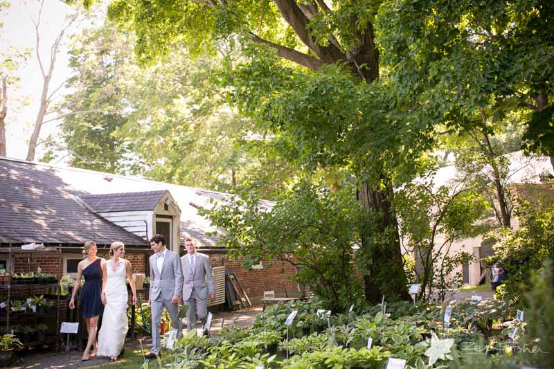 Weddings at the Lyman Estate, Bride and Groom, Maid of Honor, Best Man, Bridal Party, Boston Bridal