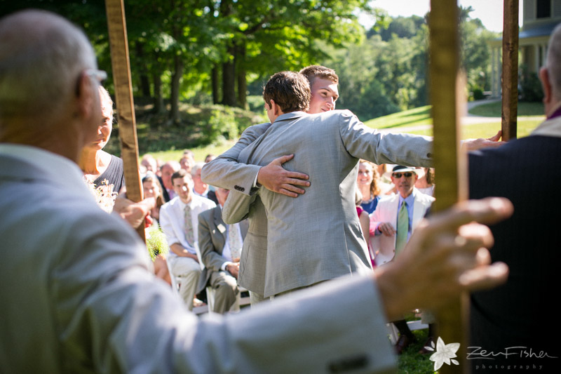 Weddings at the Lyman Estate, Groom, Best Man, Wedding Ceremony, Boston Weddings