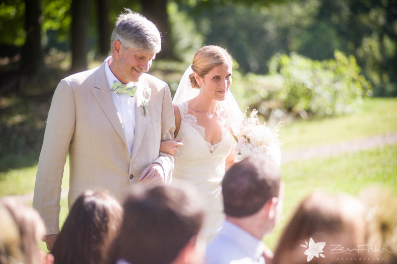 Weddings at the Lyman Estate, Bride, Father of the Bride, Wedding Ceremony, Boston Weddings