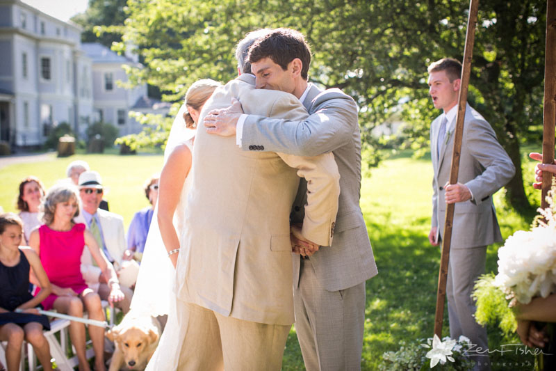 Weddings at the Lyman Estate, Bride and Groom, Father of the Bride, Wedding Ceremony, Boston Wedding