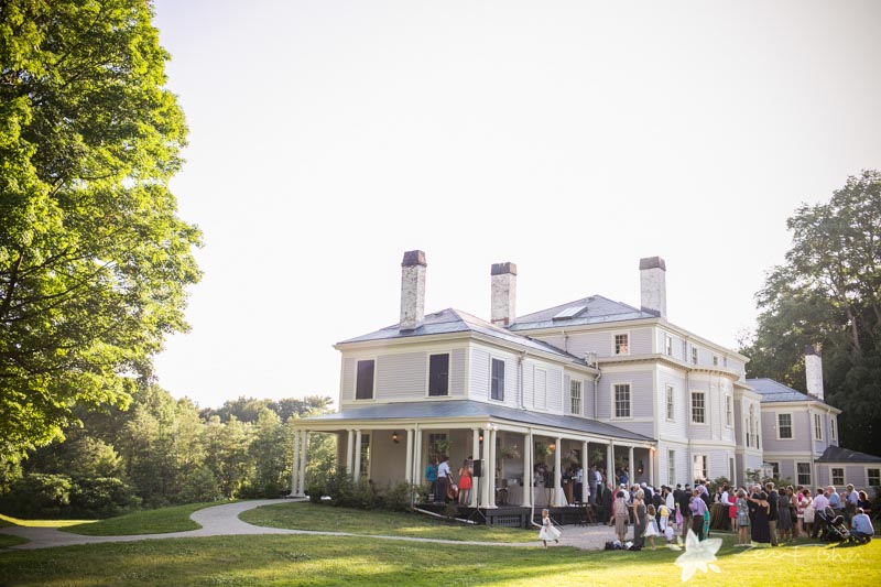 Weddings at the Lyman Estate, Cocktail Hour, Estate Wedding, Wedding Guests, Boston Weddings