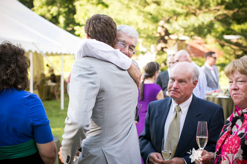 Weddings at the Lyman Estate, Cocktail Hour, Groom, Wedding Guests, Boston Weddings