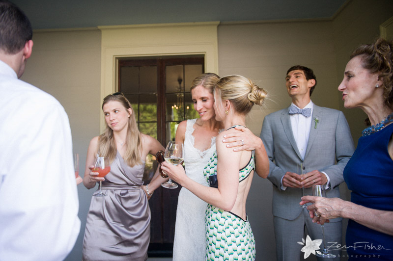 Weddings at the Lyman Estate, Cocktail Hour, Estate Wedding, Bride, Wedding Guests, Boston Weddings
