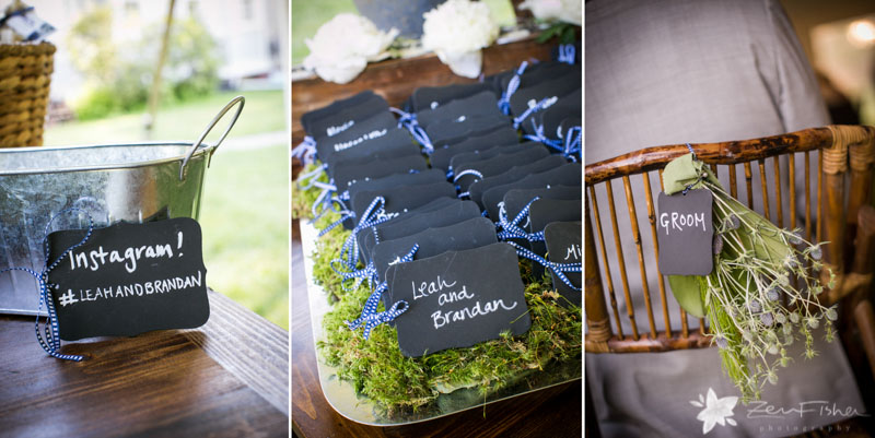 Weddings at the Lyman Estate, Cocktail Hour, Estate Wedding, Tent Wedding, Wedding Place Cards