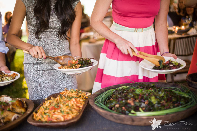 Weddings at the Lyman Estate, Wedding Reception, Wedding Spread, Wedding Eats, Boston Weddings