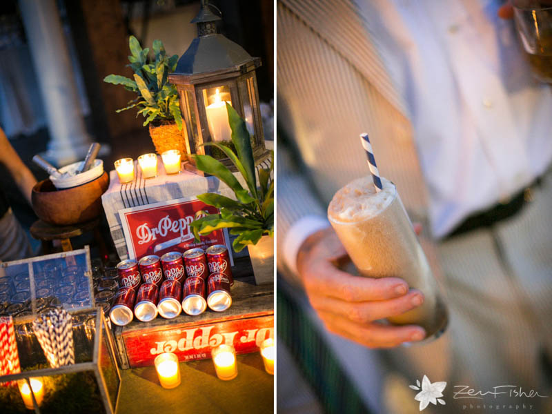 Weddings at the Lyman Estate, Wedding Reception, Soda Bar, Rustic Weddings, Wedding Details