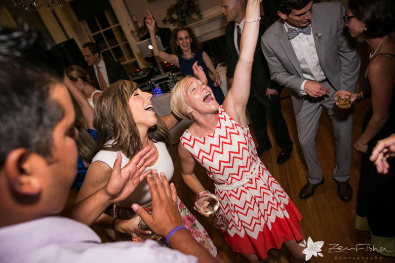 Weddings at the Lyman Estate, Wedding Reception, Wedding Guests, Dancing