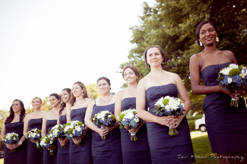 Ocean Edge Resort Wedding, Wedding Ceremony, Bridesmaids, Bridal Party, Bridal Bouquets