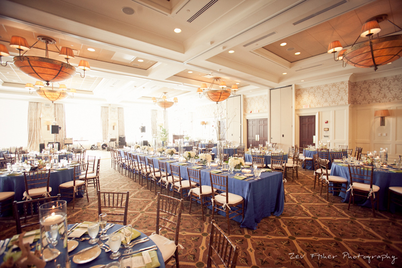 Ocean Edge Resort Wedding, Wedding Reception, Reception Details, Wedding Tablescapes, Blue Wedding