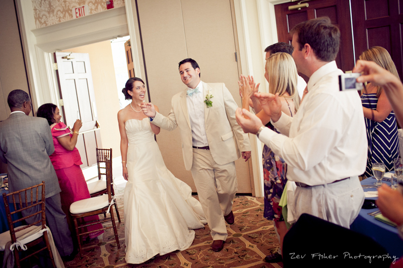 Ocean Edge Resort Wedding, Wedding Reception, Bride & Groom, zev fisher photography